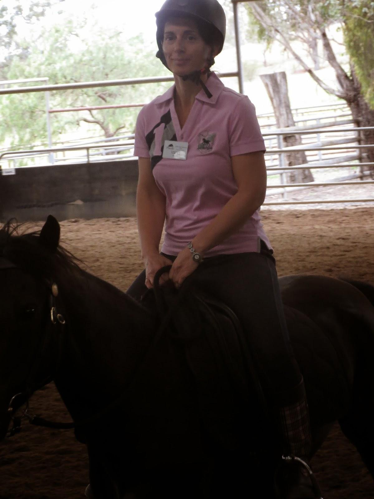 Linda Parelli Rider Makeover Clinic Sydney Nov 13