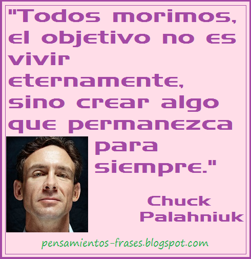 frases de Chuck Palahniuk
