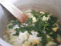 boil nettles
