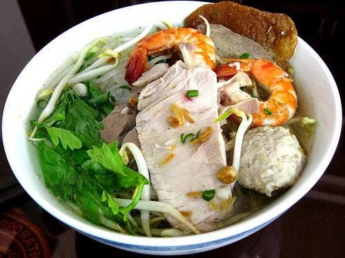 Hu Tieu (My Tho noodle soup)