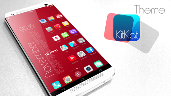 KitKat HD Launcher Theme 7 in1 v7 Apk Full