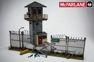 Diorama Edificio Torre Prisión