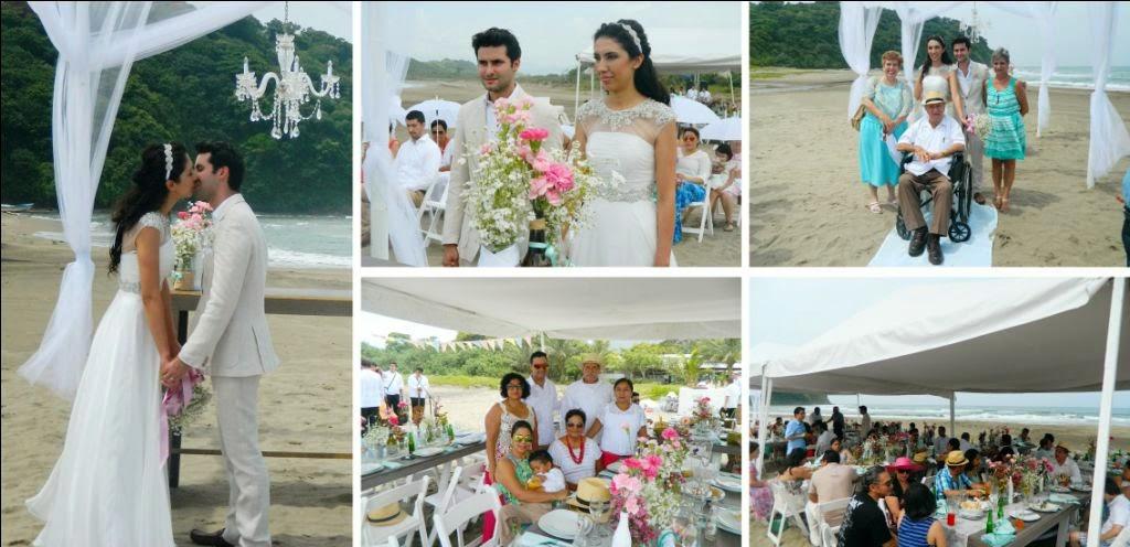 Matrimonio Simbolico En San Andres : Periodico san andrés malu y miguel una boda de ensueÑo en