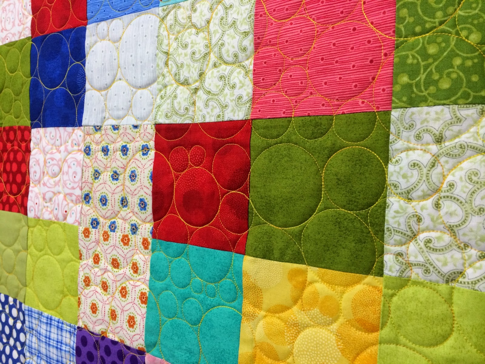 Eva Bransford Multi-Square Quilt