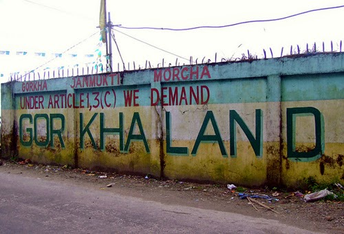 Gorkhaland demand under article 1,3 C