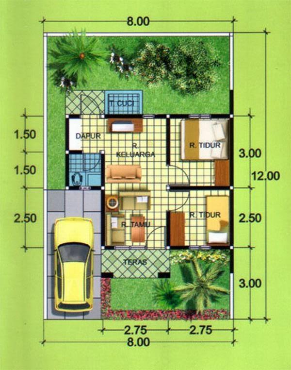 desain rumah minimalis type 36 9