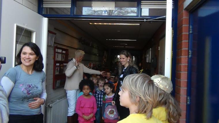 Filmopname van een LIPDUP bij Basisschool OBS Meander