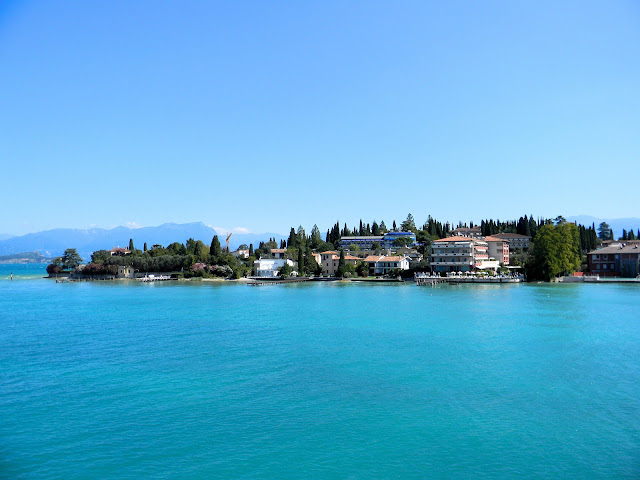Welcome to the peninsula of Sirmione in Lake Garda, Italy.