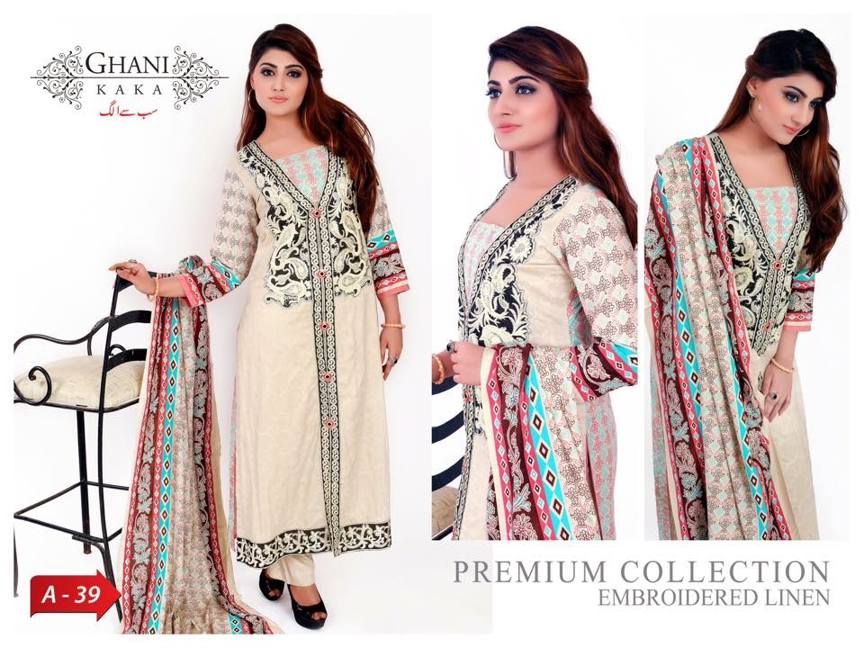 Ghani Textile Winter Collection for Girls