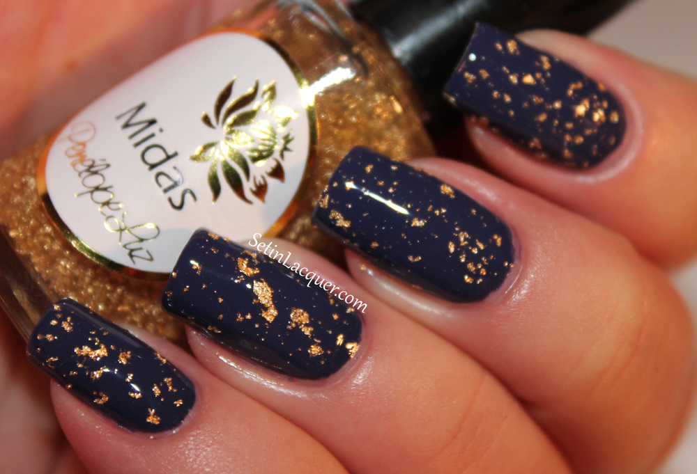 Penelope Luz - Midas over China Glaze Queen B