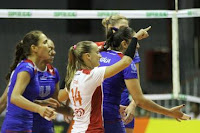 Voleibol: Duelo de gigantes