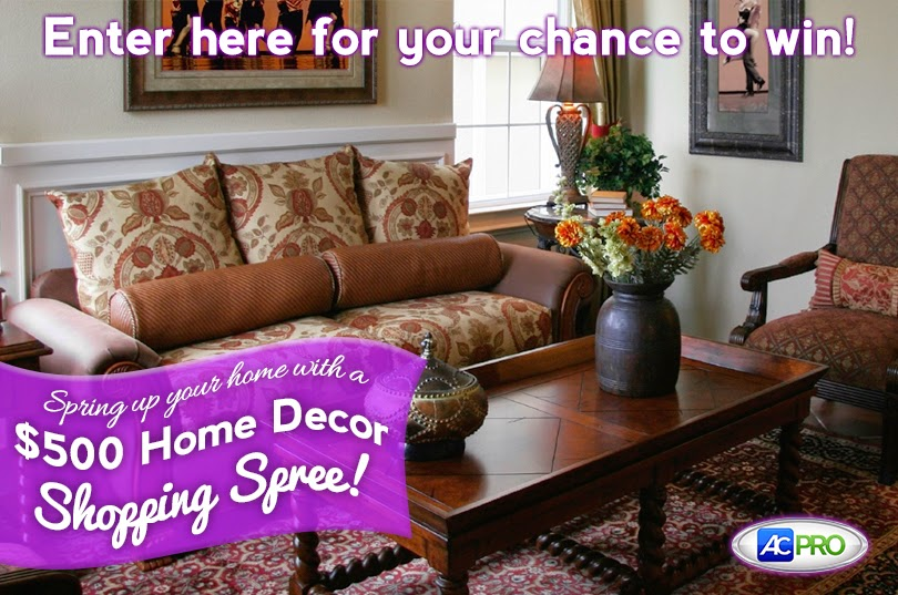 Enter to win the $500 Pottery Barn Shopping Spree Giveaway. Ends 4/30