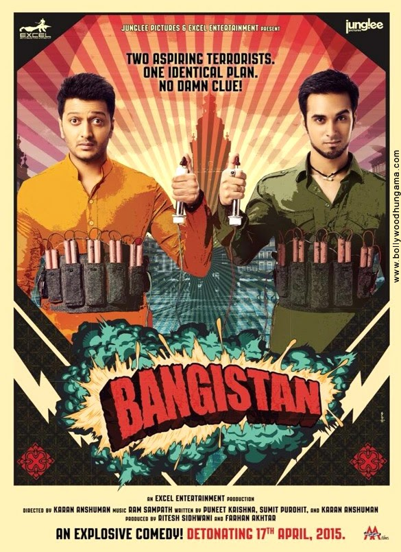 Bollywood movie Bangistan Firstlook poster