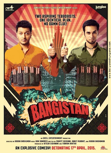Bangistan (2015) Movie Poster No. 1
