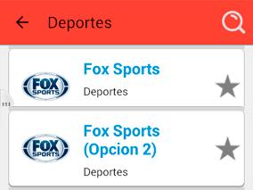 Lista de canales de televisión deportivos