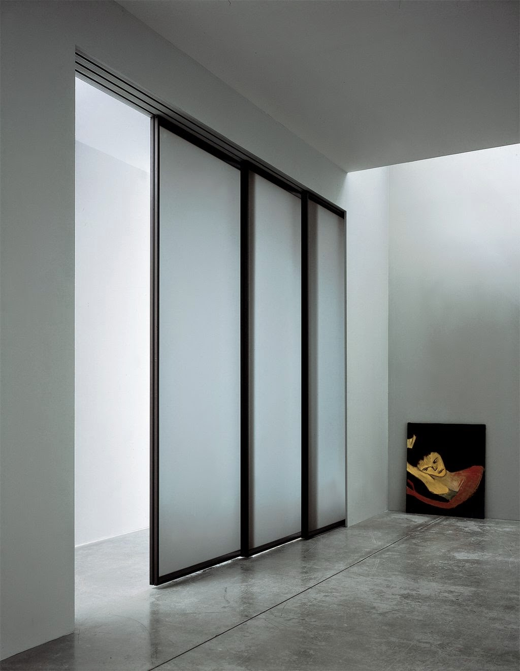 Incroyable Modern Interior Ideas Using Iced Glass Doors Design. How To Make Glass Doors  More Private ...