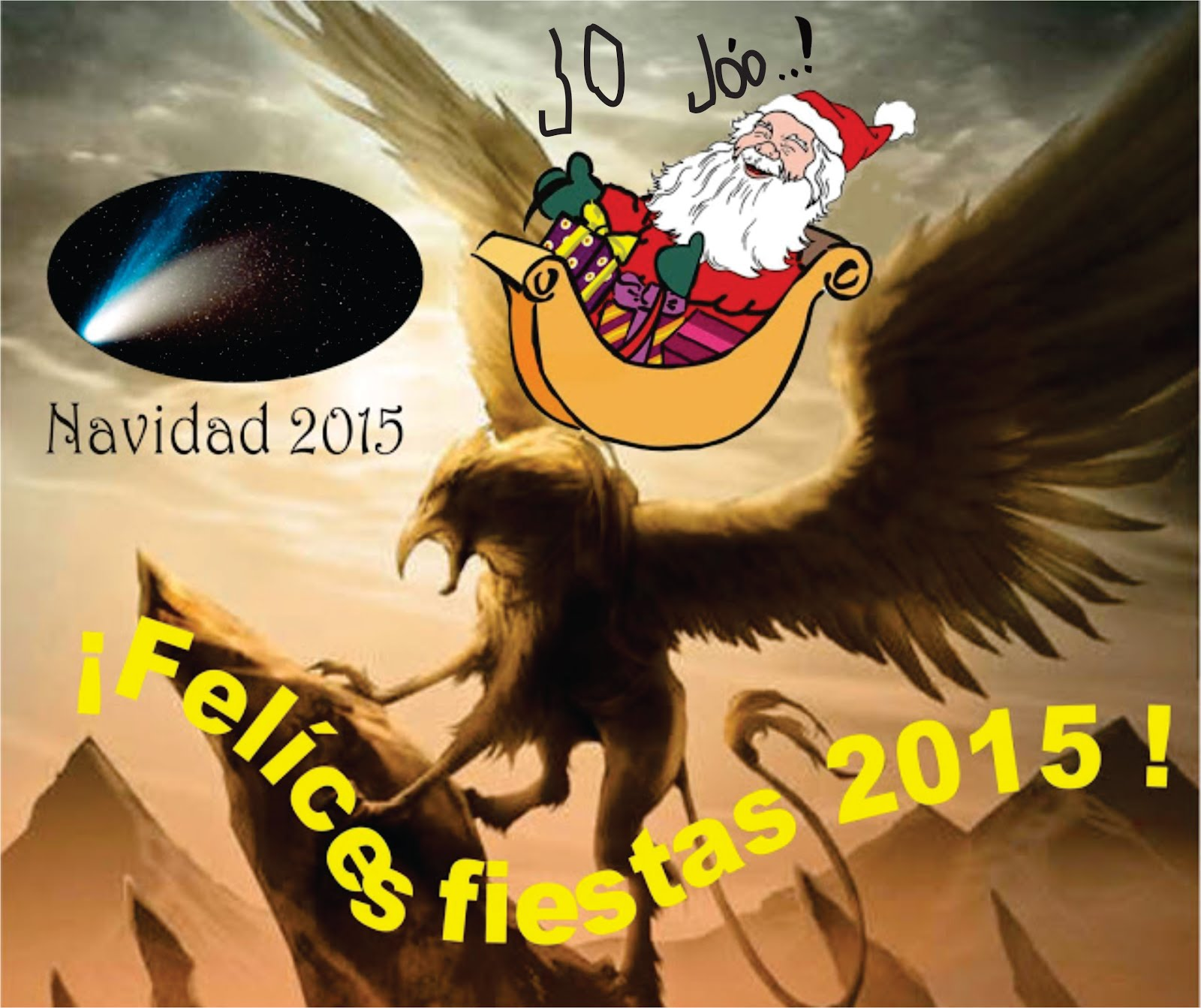 ¡FELÍCES FIESTAS 2015!