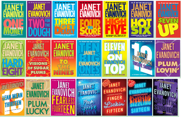 The Stephanie Plum Novels Janet Evanovich Boxed Set Lot of 6 Books 4-6 and 7-9