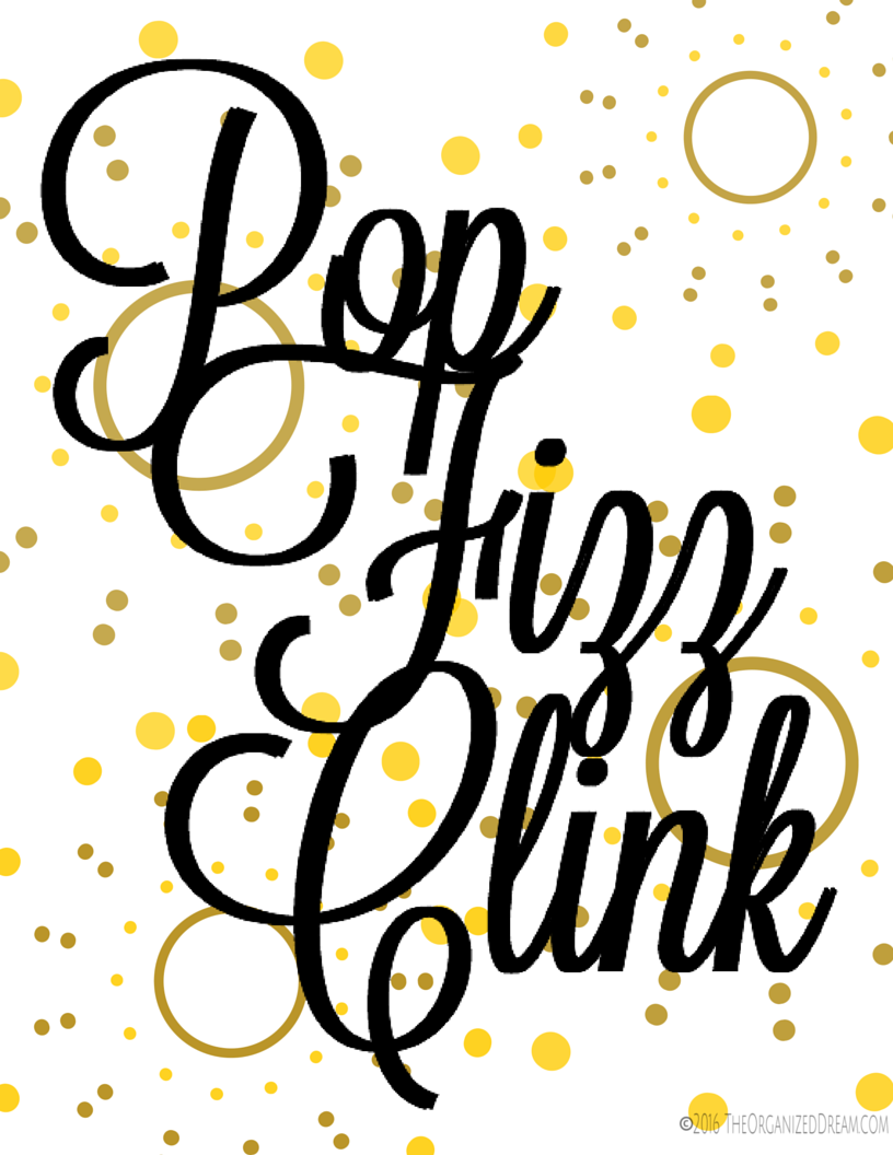 tips to get organized at home with Free New Years Printable Pop Fizz Clink on New Digital Magazines moreover 19 Easy Home Organization Ideas in addition Printable Labels For Organizing Kids Clothes in addition Bathroom Makeup Vanities further Mom Time Coupons.