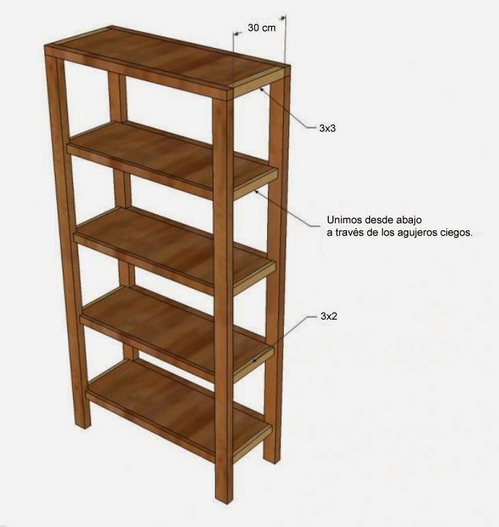 Oh!Naturel: DIY: Cómo hacer tu propia estantería
