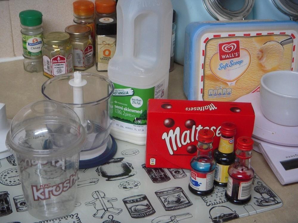 how to make a kfc milkybar krushem