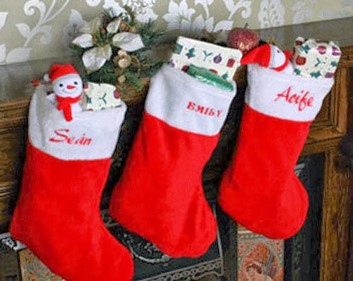 Tutorial para hacer calcetines para la chimenea de navidad - Calcetines de navidad personalizados ...