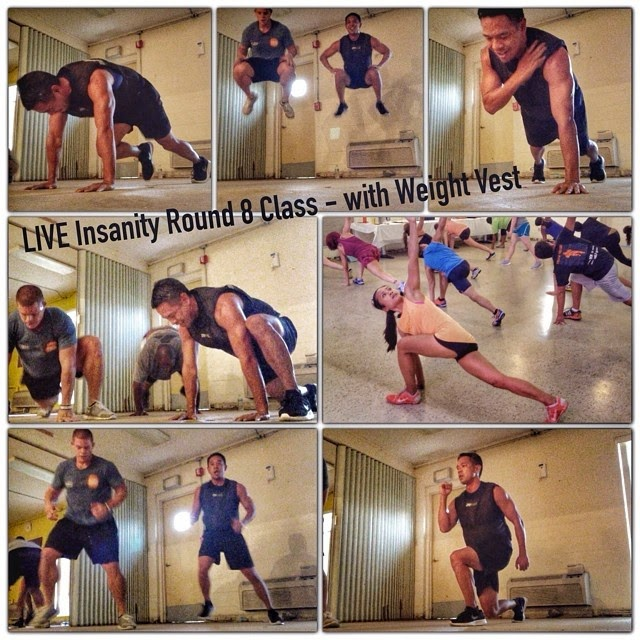 Insanity Workout Round 8 Class