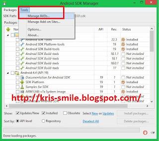 Cara Membuat Emulator Android KIT-KAT OM Kris Blog 1