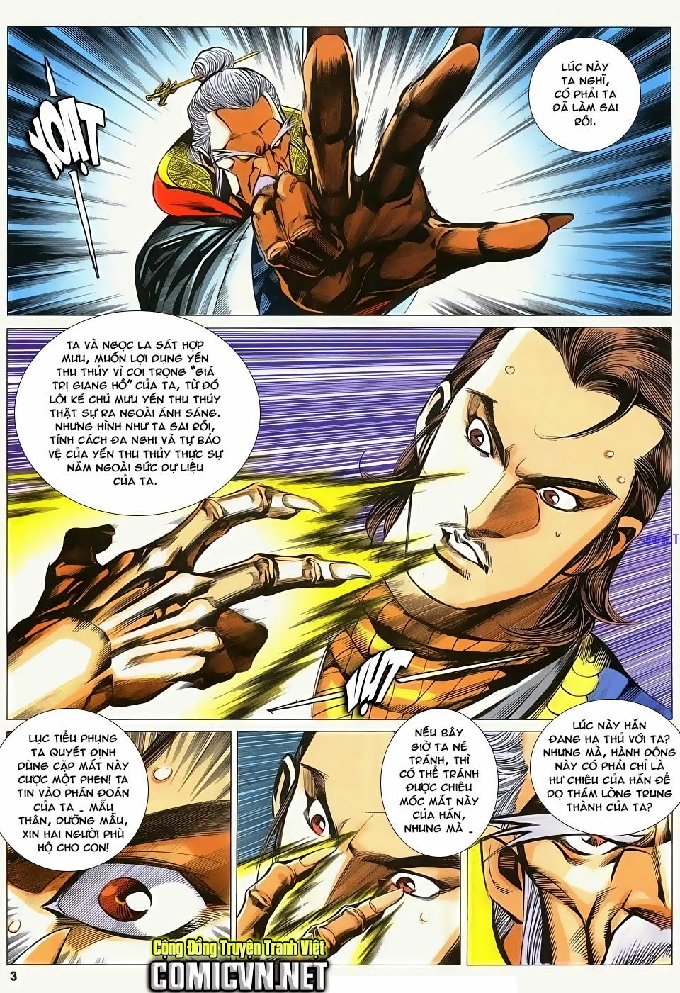 Cổ Long Quần Hiệp Truyện chap 84 Trang 3 - Mangak.info