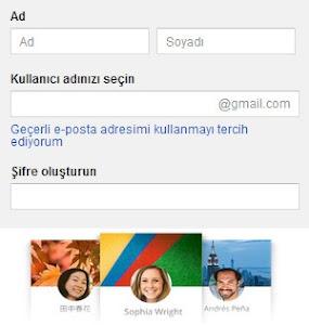 Google Gmail nasıl alınır ?