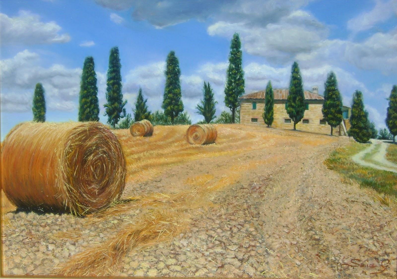 Sonia gramolini campagna toscana for Disegni di cabina di campagna