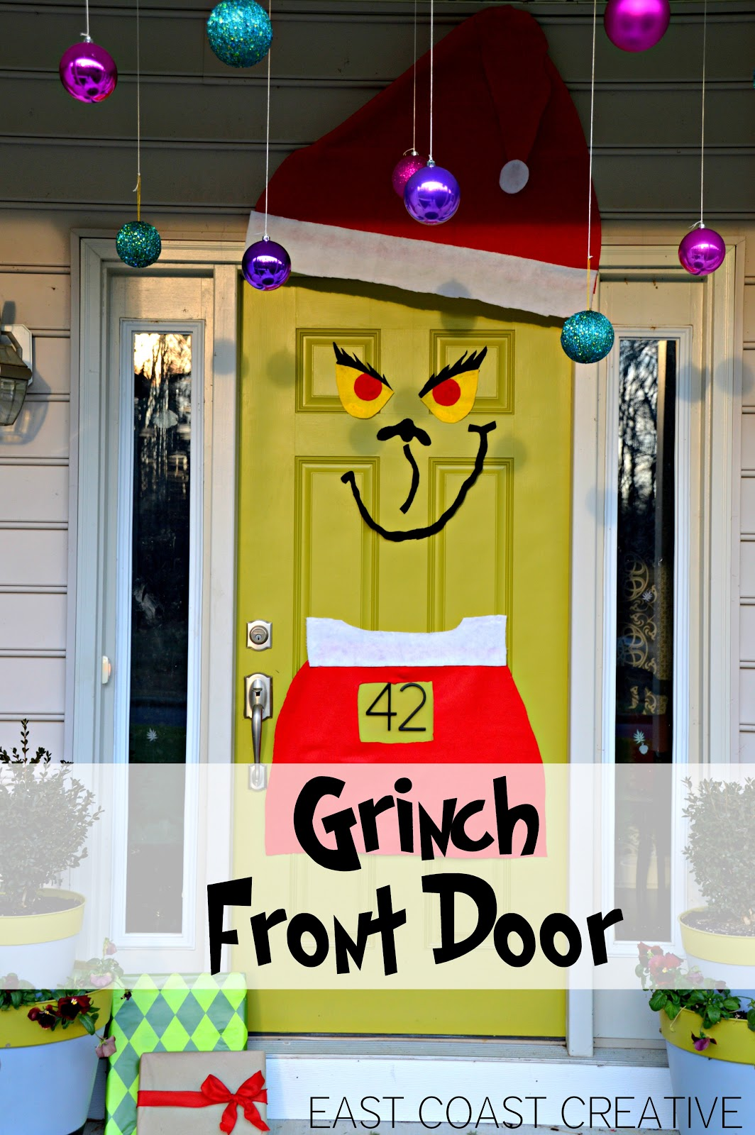 The Grinch Front Door Christmas 2012 East Coast Creative Blog