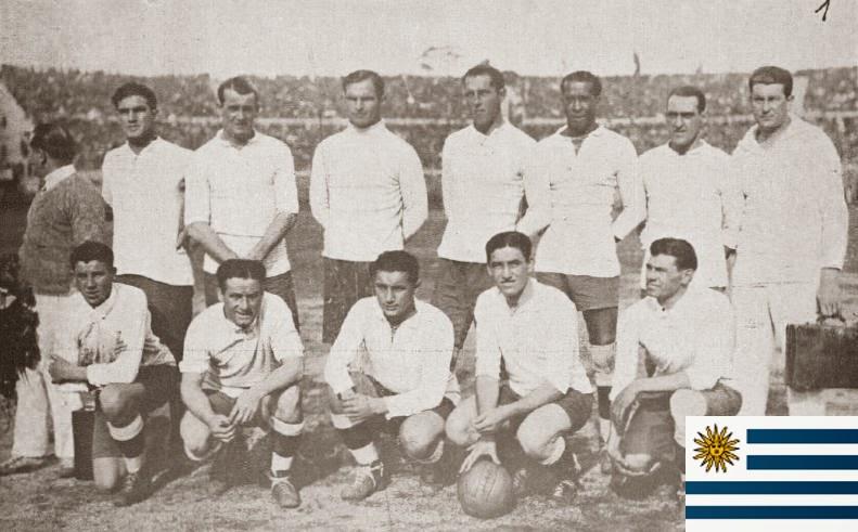 Finale de la coupe du Monde de Football 1930 Uruguay
