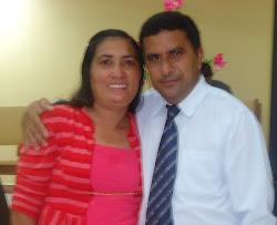 Pr. José Benedito e esposa