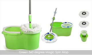 Shopclues : Buy 360 degree Magic Spin Mops at Worth Rs. 1499 At Rs. 539  – buytoearn