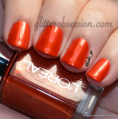 L'Oreal The Muse's Inspiration swatch