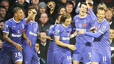 Fulham 1 - 3 Tottenham Hotspurs (1)