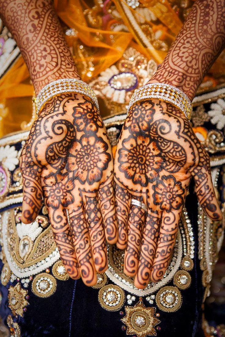 Mehndi Bridal Pics : Beautiful latest simple arabic pakistani indian bridal
