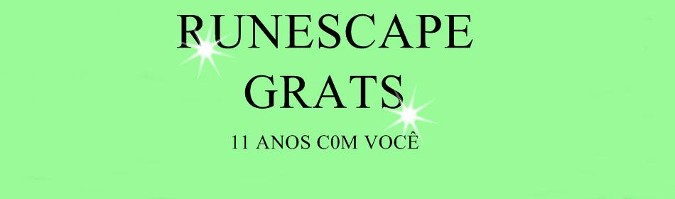 RUNESCAPE GRATS™ REI DA CRIAÇÕES DE RUNESCAPE PIRATA!