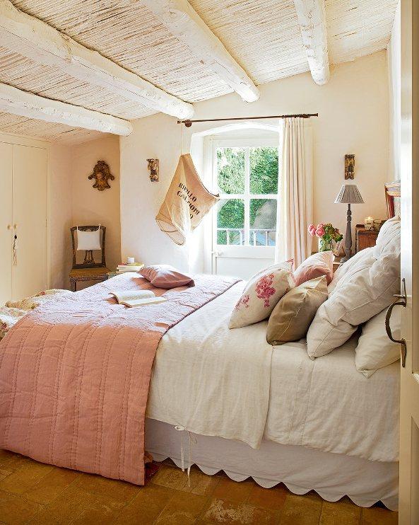 dormitorio rústico blog