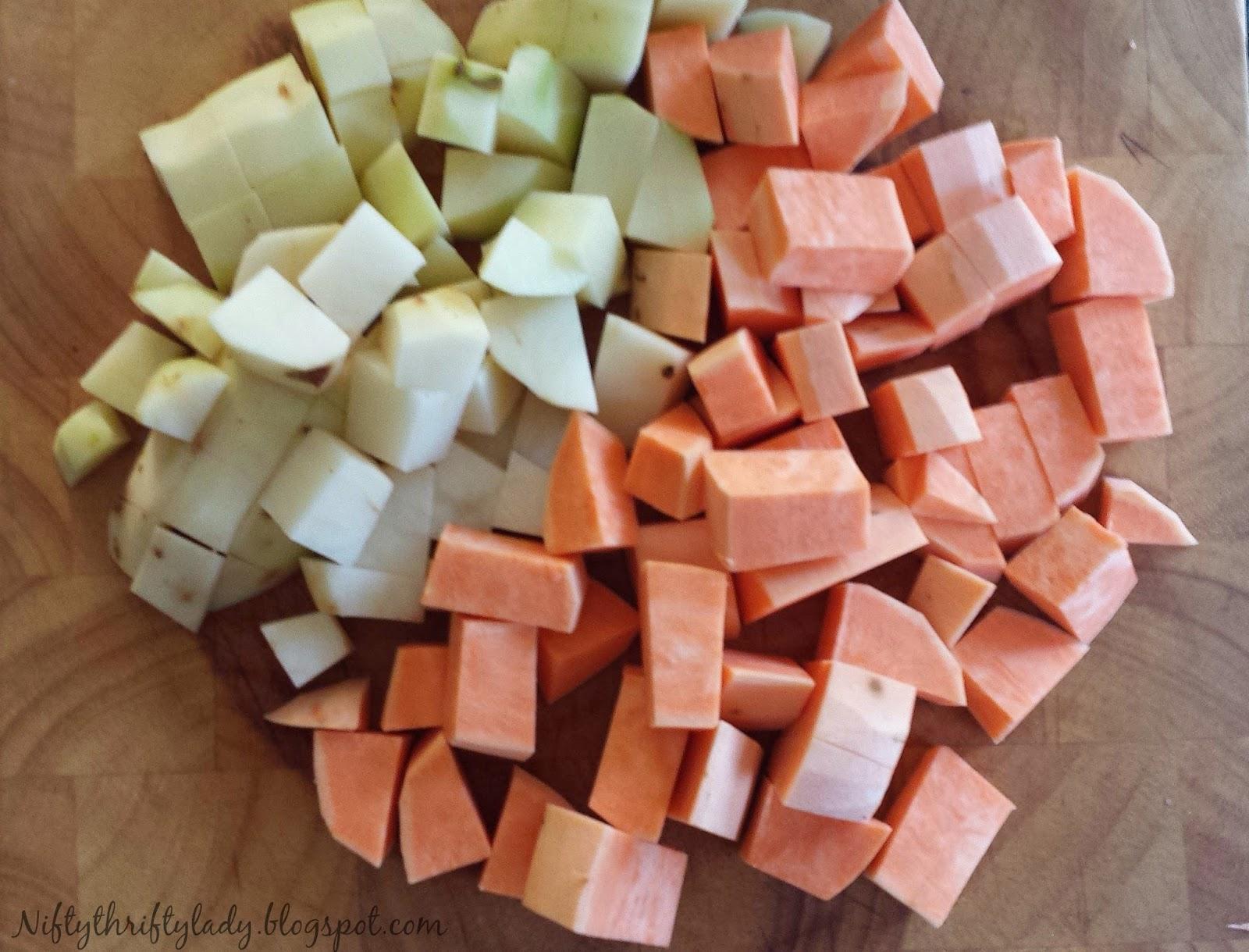 Sweet Potato bacon hash