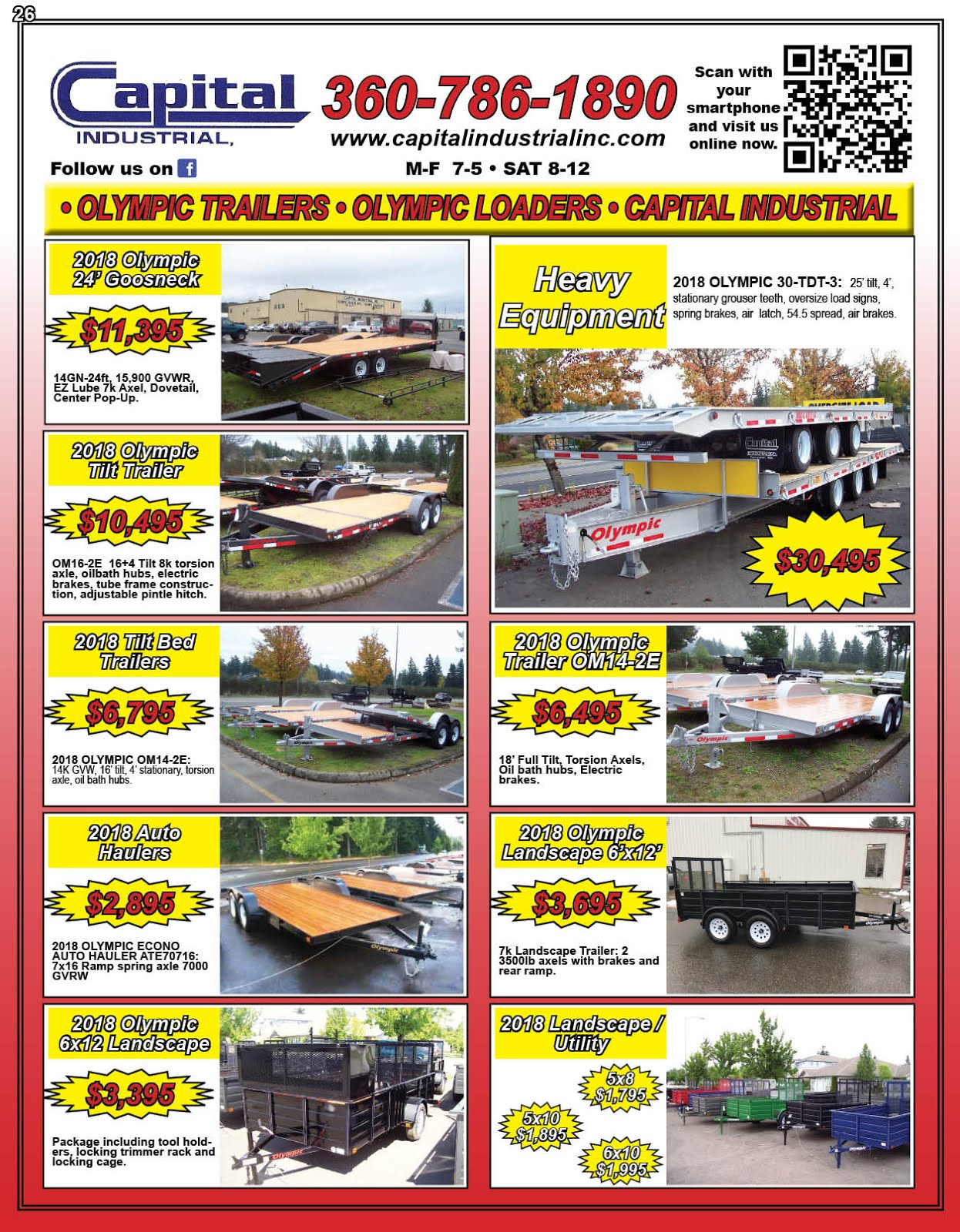 Capital Industrial, Inc & Olympic Trailer Mfg