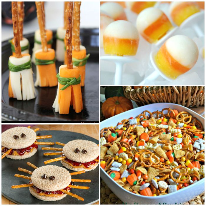 cutting tiny bites healthy halloween snacks for kids