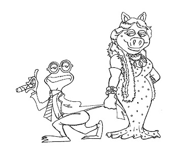 #9 The Muppets Coloring Page