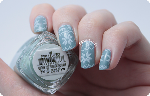 "essie ""parka perfect"" norwegenmuster stamping"