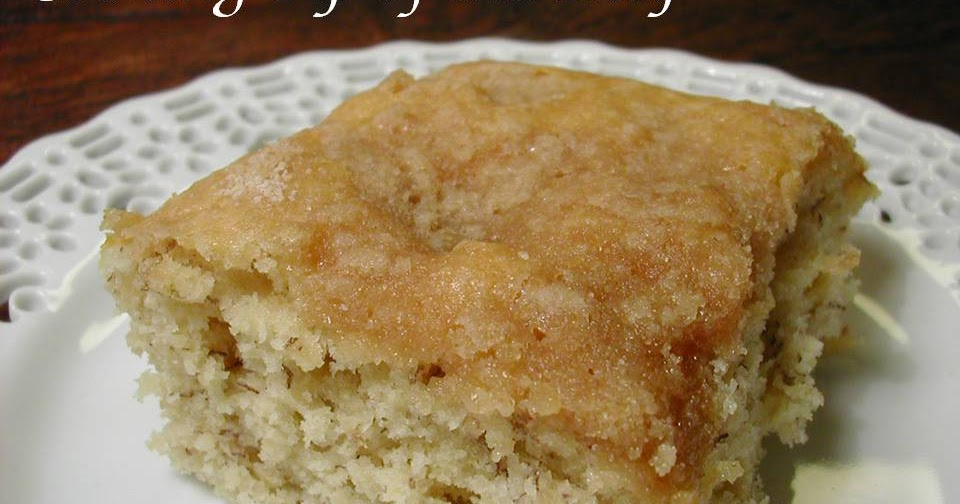 Cooking Tip of the Day: Banana Buttermilk Coffee Cake