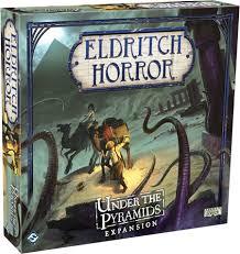 Eldritch horror under the pyramids