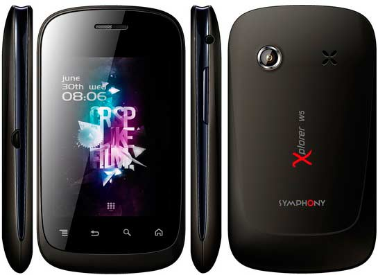 Price of Symphony Xplorer W5 phone