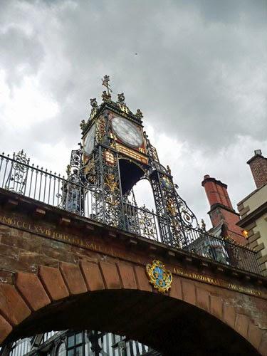 Eastgate Clock Chester, UK.