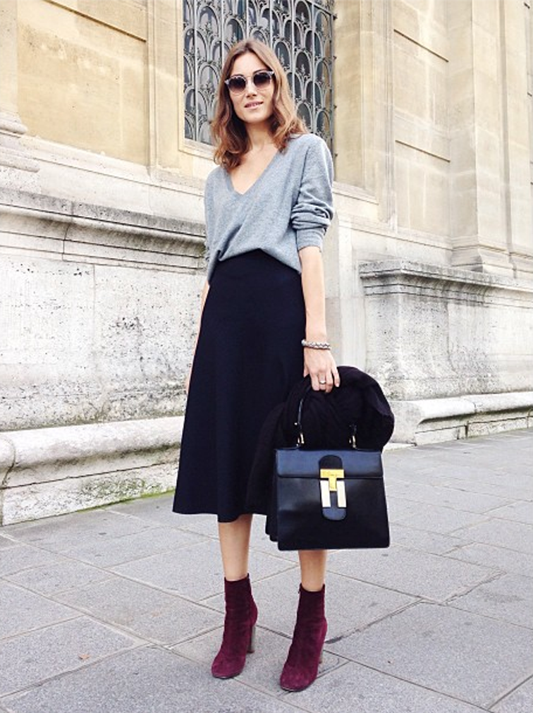 Giorgia Tordini Grazia Paris Fashion Week Street Style